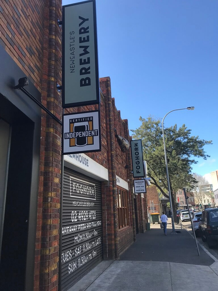 Foghorn Brewhouse - Brewery in Newcastle NSW